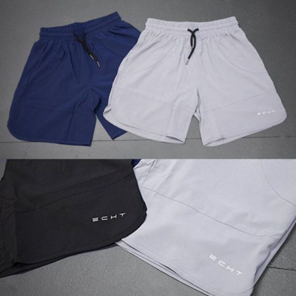 Echt Men's Fitness Short 5