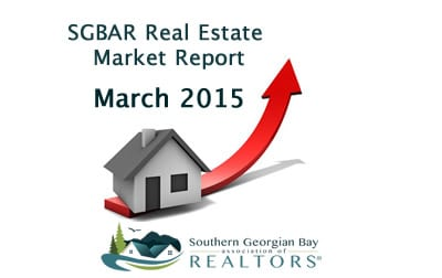 Collingwood, Blue Mountains & Southern Georgian Bay Real Estate Market March 2015