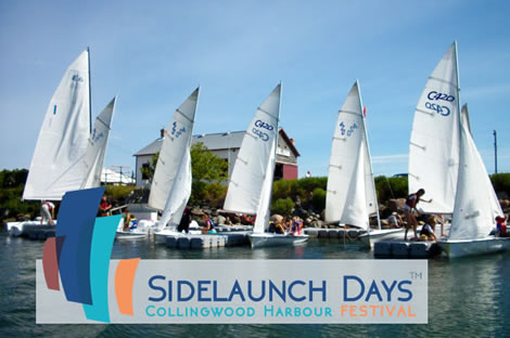 Collingwood SideLaunch Days Festival – August 1 – 3