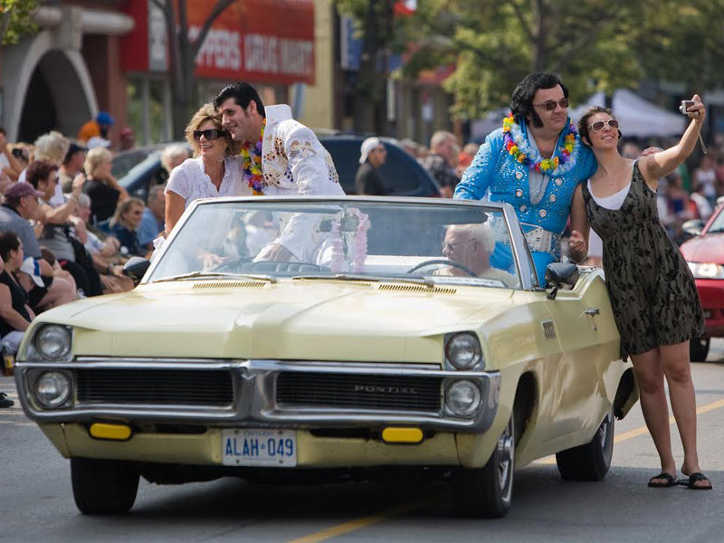 Collingwood Elvis Festival 2015