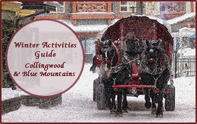Winter Activities Collingwood & Blue Mountains