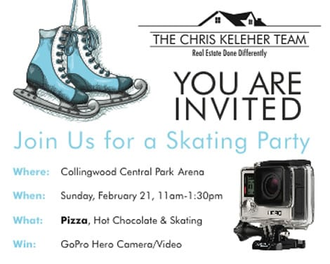 First Annual Team Skating Party