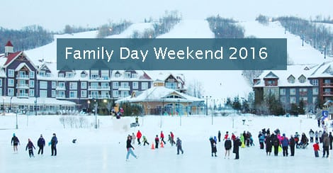 Family Day Weekend Events Collingwood – Blue Mountain 2016