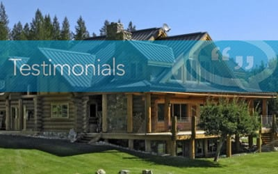Brock Martin, Seller,  Natural Prestige Log Homes