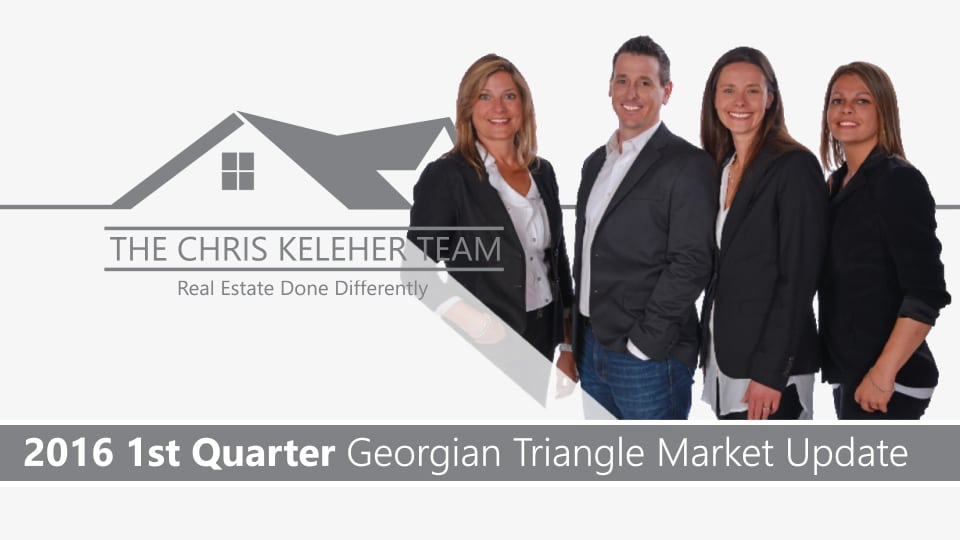 Video – First Quarter 2016 Georgian Triangle Market Report