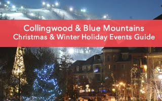 A Guide to Christmas & Winter Holiday Events in Collingwood & Blue Mountains