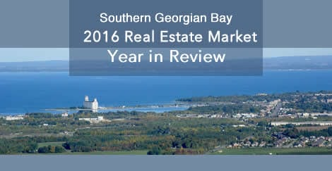 2016 Georgian Triangle Real Estate Market Review