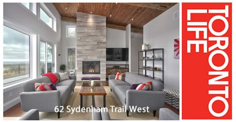 Toronto Life Features 62 Sydenham Trail West