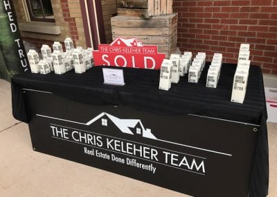 Sponsor Table Chris Keleher Team