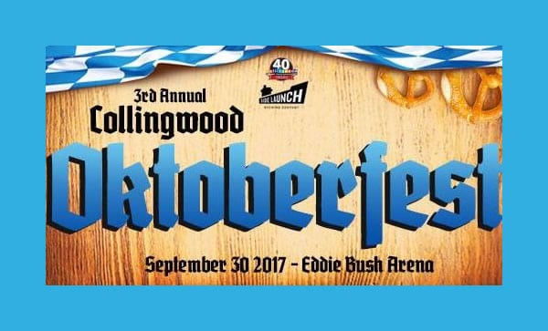 3rd Annual Collingwood Oktoberfest