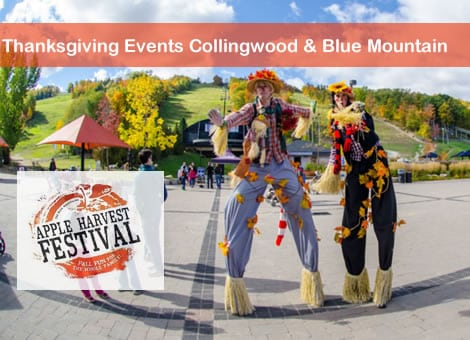 Thanksgiving Weekend Activities Collingwood – Blue Mountain