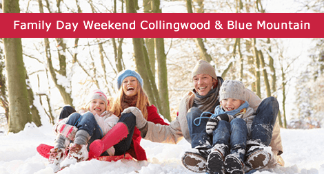 Family Day Weekend Collingwood – Blue Mountain 2018
