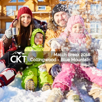 Collingwood – Blue Mountain March Break 2018