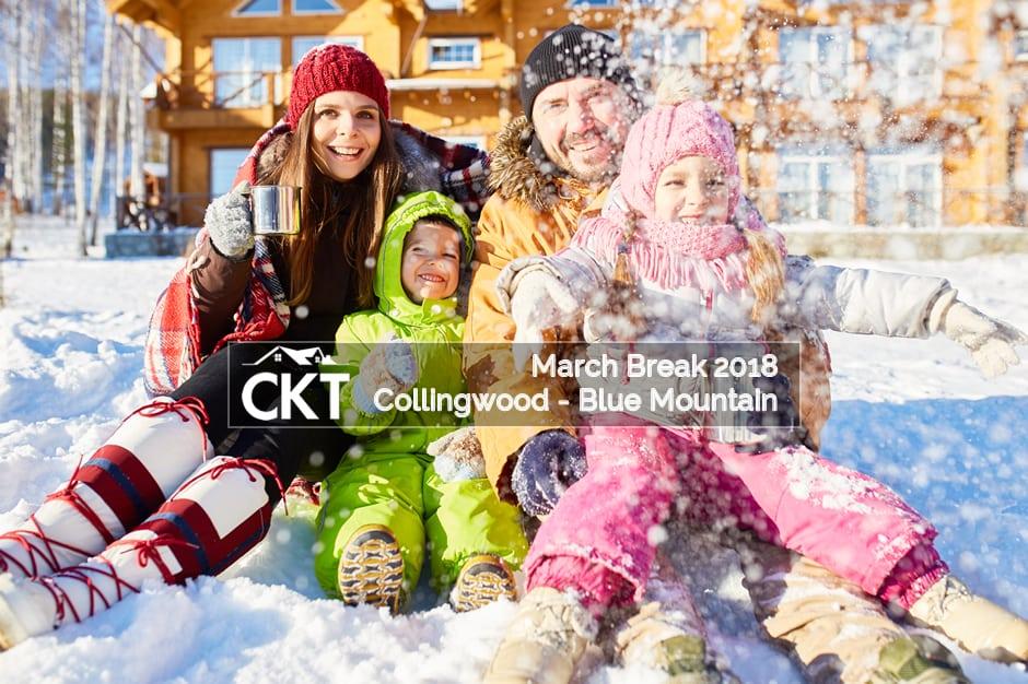 Collingwood – Blue Mountain March Break 2018