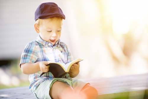 boy, child, kid, bible, reading, read, study, happy, smiling, laughing