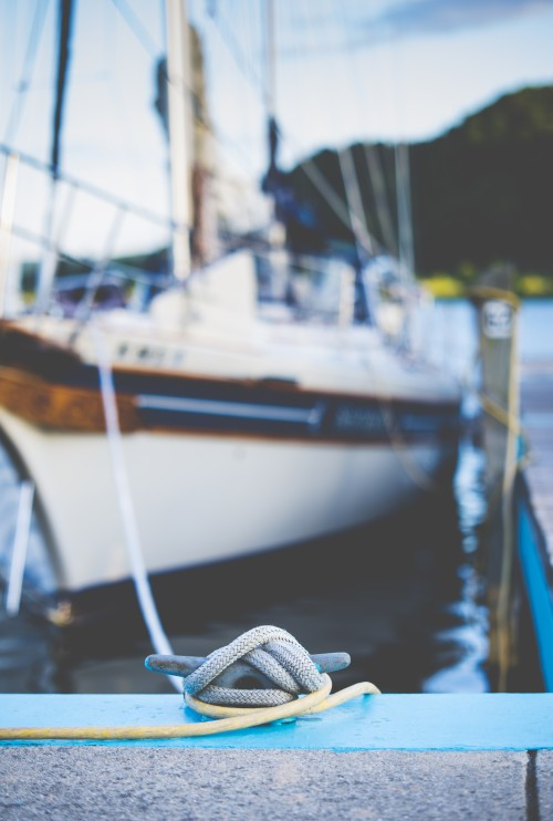 summer, boats, sun, harbor, ships, lake, rope, dock