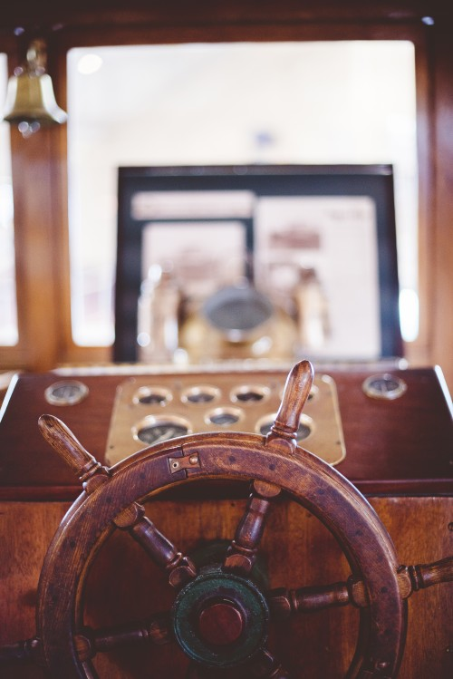wheel, steer, captain, pilot, ship, boat, vintage, wood