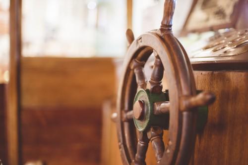 wheel, steer, captain, pilot, ship, boat, wood, vintage