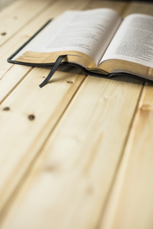 wood, bible, table, pine, light, reading, study, devotions