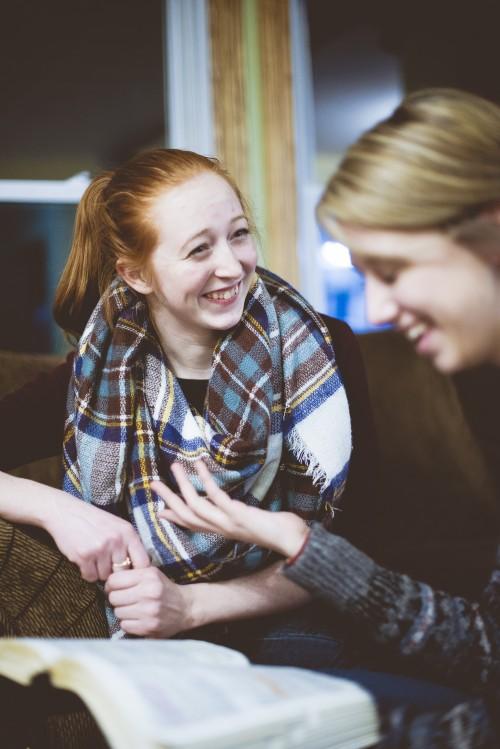 friends, girls, bible, reading, study, fellowship