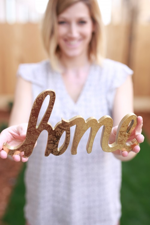 home, sign, woman, family