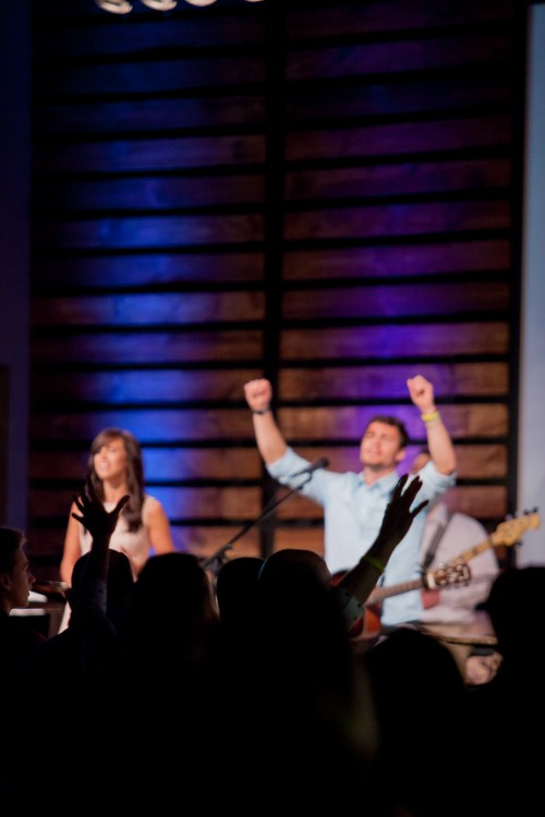 worship, singing, music, instruments, team, band, hands, raised