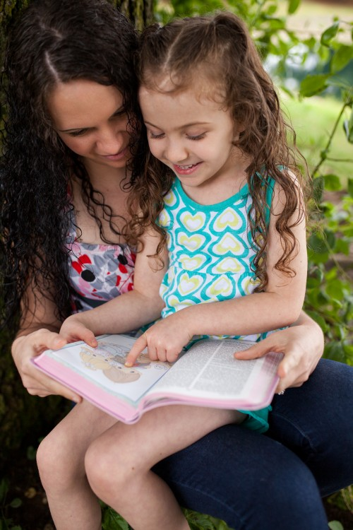 mother, mom, daughter, girl, bible, study, reading, parent, family, parenting, smiling