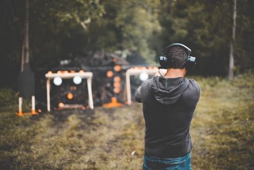 shooting, firing, range, gun, targets, sports, activity, weapon