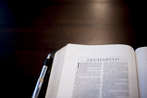 book, verse, chapter, bible, pen, pages, open, study, reading, words, devotions, zechariah