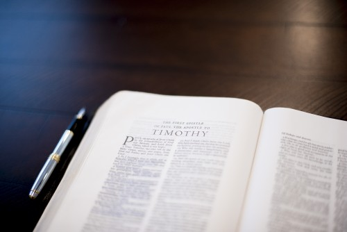 book, verse, chapter, bible, pen, pages, open, study, reading, words, devotions, timothy