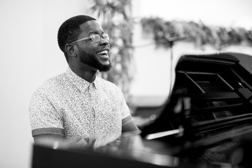 man, instrumentalist, musician, instrument, play, music, worship, hymns, song, player, piano, keys, black, white