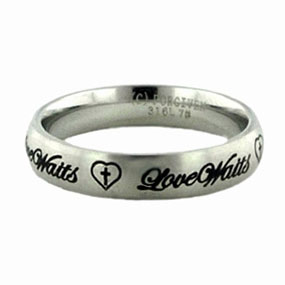 Love Waits Ring - FJ-RSLW