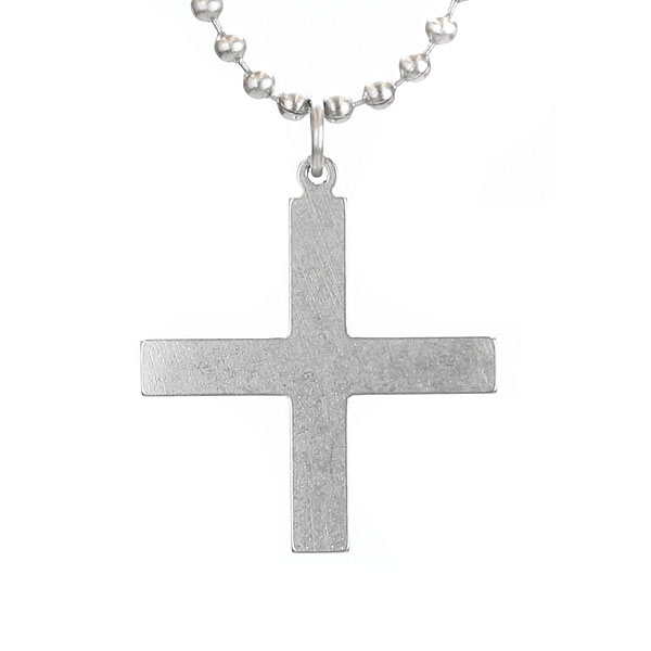 Greek Cross Military Necklace