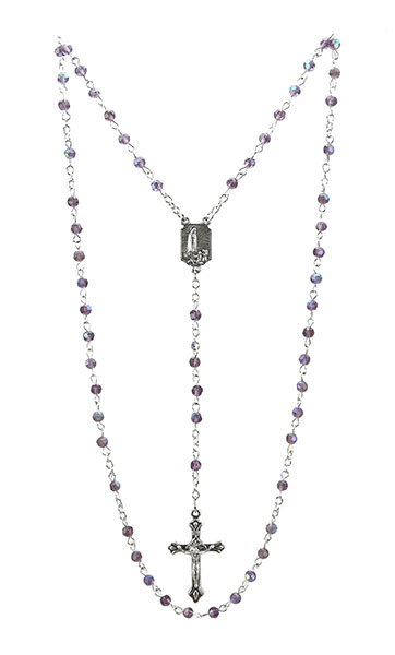Baby's First Rosary - Amethyst - DSG-32-0791