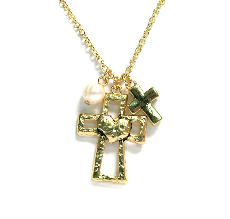 the gallery for gt gold heart necklaces for women