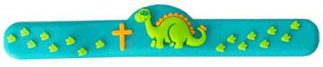 Dinosaur Cross Adjustable Ring - BC-JRR005