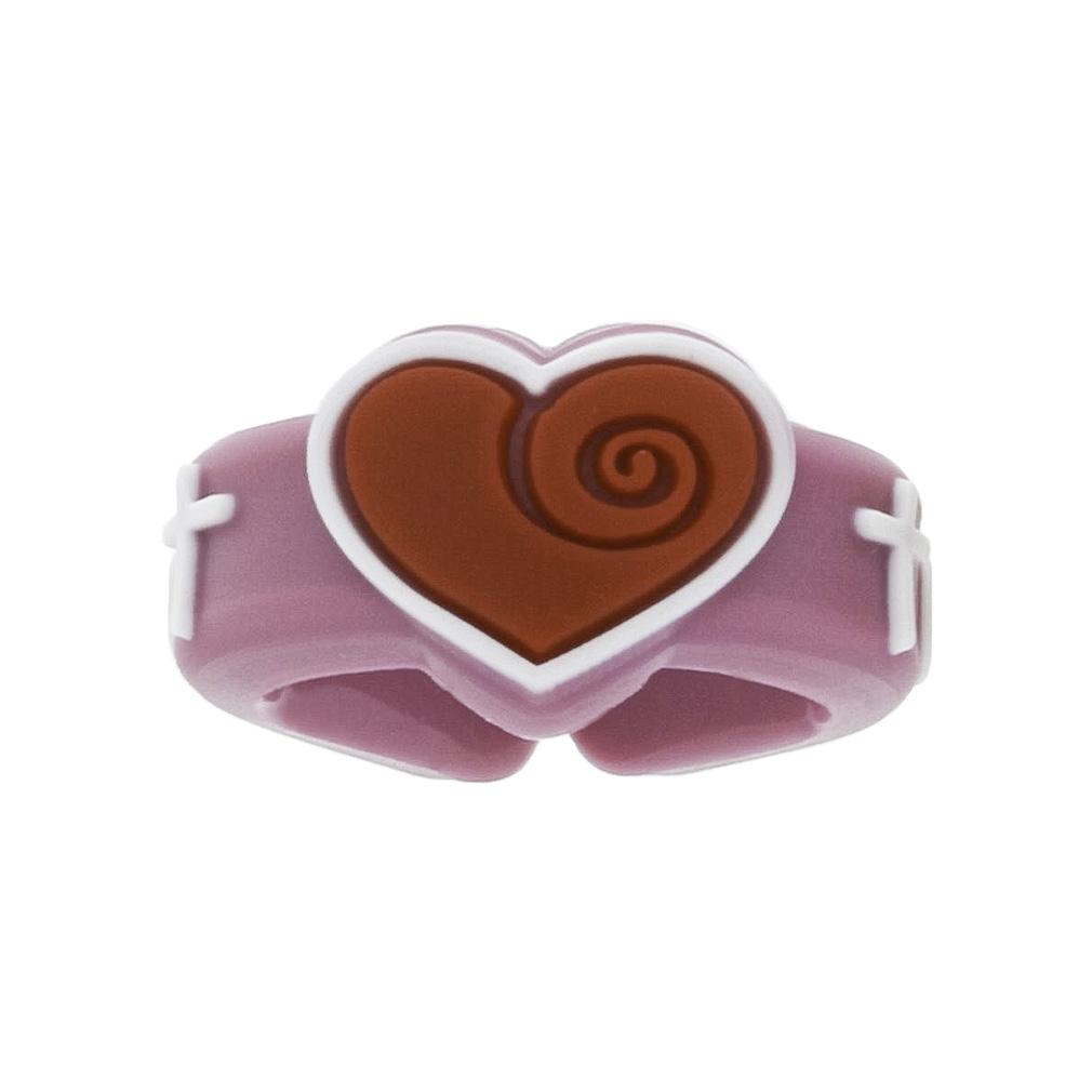 Heart Cross Adjustable Ring - BC-JRR003