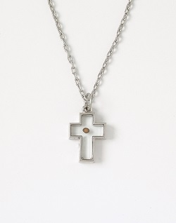 Three Tipped Cross Necklace