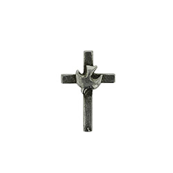 Dove Cross Pin