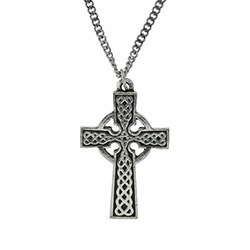 Traditional Celtic Cross Necklace