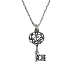 Filigree Key Necklace