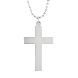 Large Cross Necklace