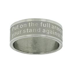 Ephesians 6:11 Ring Band