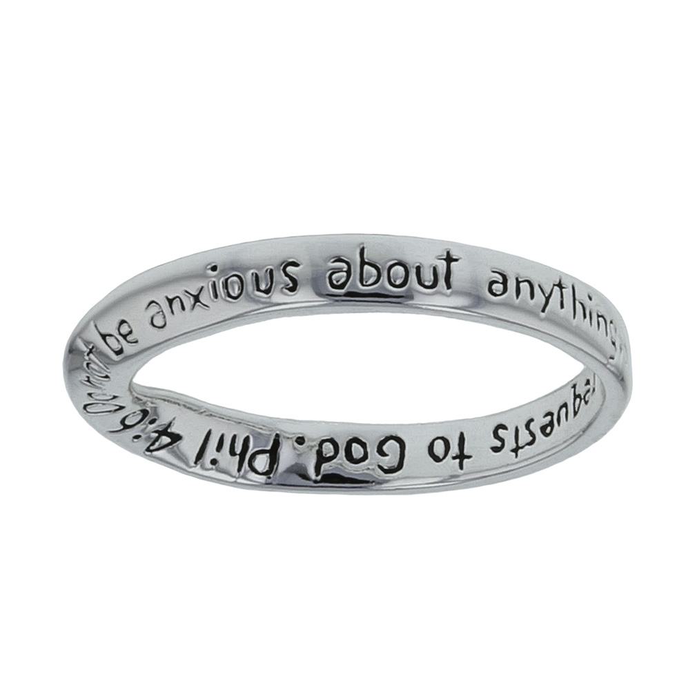 Do Not Be Anxious Ring - DSG-35-520PHIL