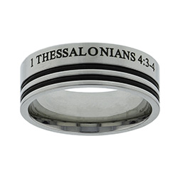 1 Thessalonians 4:3 Ring - FJ-RSPU4