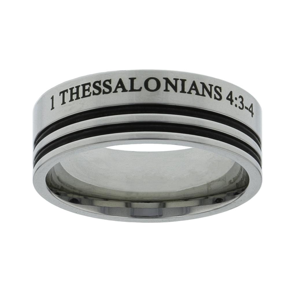 1 Thessalonians 4:3 Ring - FJ-RSPU4