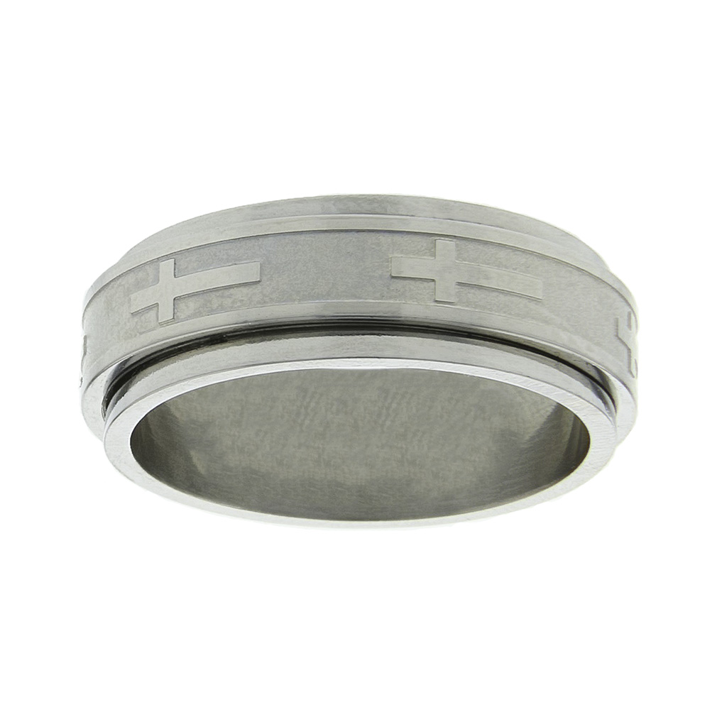 Cross Spinner Ring - FJ-RSS5