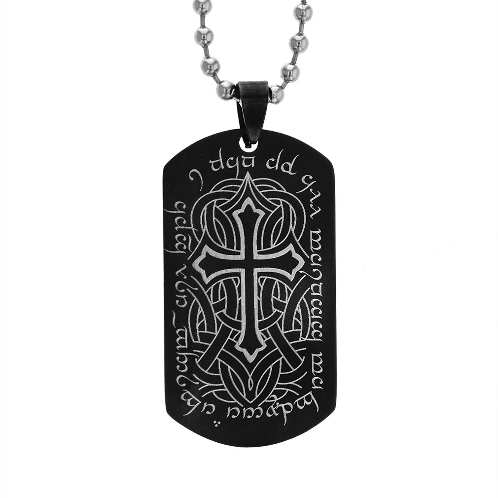 Elvish Cross Keychain/Necklace - FP-DTG191