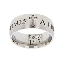 Proverbs 17:17 Scripture Ring scripture ring, scripture verse, verse ring, proverbs 17:17, proverbs 17: 17, prov. 17:17, prov. 17: 17, a friend loves at all times, a friend loves, friend, friendship, love, friends