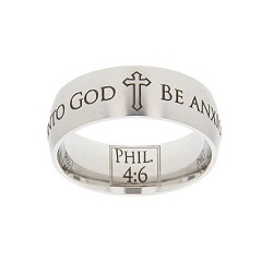 Philippians 4:6 Scripture Ring scripture ring, scripture verse ring, verse ring, scripture verse, philippians 4:6, philippians 4: 6, phil. 4:6, phil. 4: 6, be anxious for nothing, pray unto god, be anxious for nothing, pray, god, pray unto god